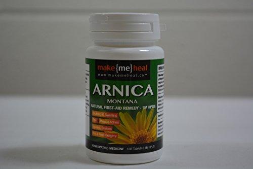 MakeMeHeal Arnica Montana Swelling & Bruising First-Aid Natural Remedy – 1M Strength (100 (Arnica Montana Surgery)