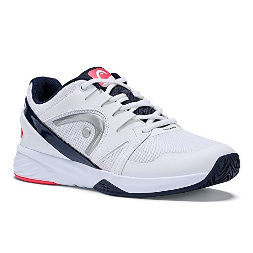 HEAD Women`s Sprint Team 2.0 Tennis Shoes White and Coral-(726424584192)