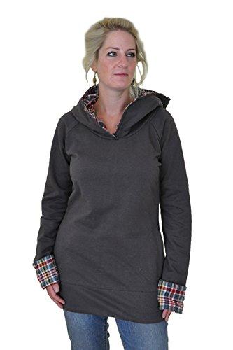 Größen schwanadlerpfau Langer Virblatt Für Schwanadlerpfau Alternative L S Kleidung Kapuzenpullover Frauen M Als � In -
