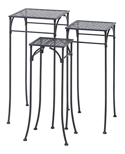 Square Iron Plant Stands - 7