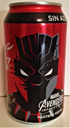 Marvel Comics: Avengers Infinity War Mexico Exclusive Coke Can Black Panther Sealed