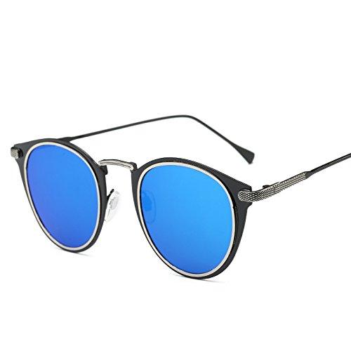 Nueva Con La Moda GoldBoxCherryPowder La Unisex VDRFG Sol Blackboxiceblue Tendencia De Gafas Párrafo Mismo El De Clásicos Retro Populares Sol Gafas De wfqxIw5gXY