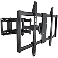Monoprice Stable Series Full-Motion Articulating TV Wall Mount Bracket for TVs 60in to 100in