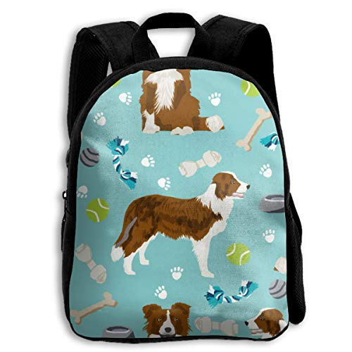 The Children's Border Collie Red Dog Backpack