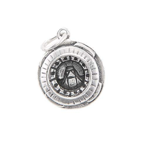 Sterling Silver Three Rivers Stadium Pittsburgh Pennsylvania Charm Pendant Jewelry Making Supply Pendant Bracelet DIY Crafting by Wholesale -