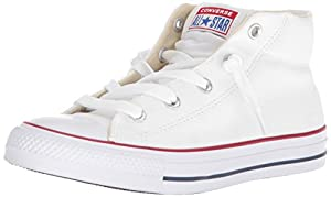 4f1771a714d3 ... Converse Mens Chuck Taylor Street Mid Sneaker White Natural . upc  886956170161 product image1