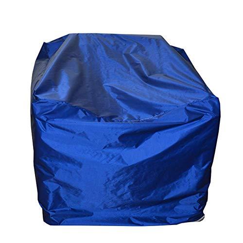 QM-Plane Qing MEI Wasserdichte Und Verschleißfeste Schutzhülle Für Gartenmöbel Für Gartengeräte, Oxford-Tuch, Größe 16 (Farbe  Blau) A+ (größe   150x130x90cm)