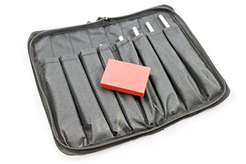 """Tuning Fork, Superior Quality, Musical Set of 8 Includes:""""C"""" 261.6 Hz, 293.7""""D"""", 329.6""""E"""", 349.2""""F"""", 392""""G"""", 440""""A"""", 493.9""""B"""" and 523.2""""C"""""""