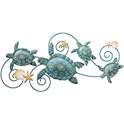 "Regal Art and Gift 5073 Sea Turtle Wall Decor, 31"", Blue"