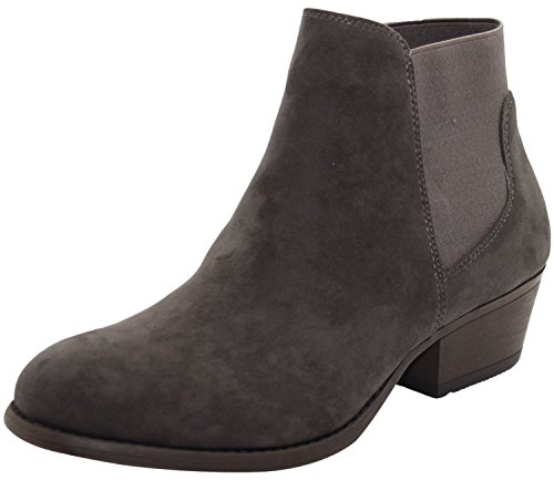 Pantofole Shoes Auckland Stivaletto Emma Donna grey A TBOwfx