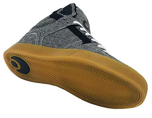 Skate Mens Charcoal Clone Top wool Osiris Shoe Hi wTIttqg