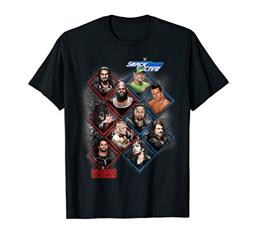 WWE Raw & Smackdown Live Stars Graphic T-Shirt
