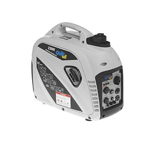 Quipall 2200I 2200i Inverter Generator (CARB) (Best Generator For Tailgating)