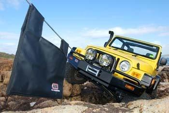 ARB 3450070 Winch Compatible Bull Bar (Arb Winch Bull Bar Jeep)