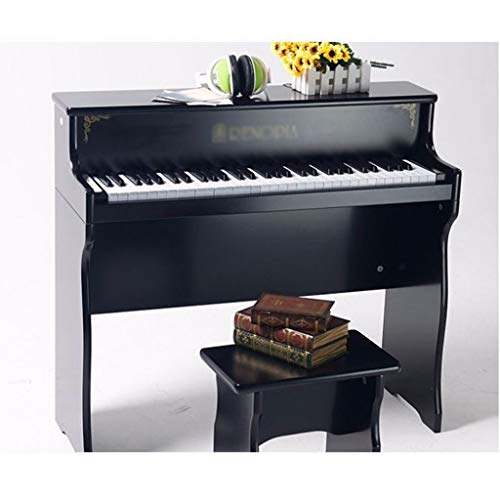 KINGLING-piano Children's Piano 61 Key Baby Children Beginner Electric Piano Wooden Early Education Toy Keyboard (Color : Black) by KINGLING-piano (Image #2)