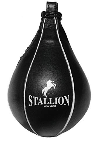 STALLION NEW YORK All Pro Boxing Speed Bag – Genuine Leather – High Speed – State-of-The-Art Quality Boxing Equipment…