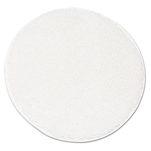 "UNISAN UNS R21 Rotary Yarn Carpet Bonnets, 21"", White"