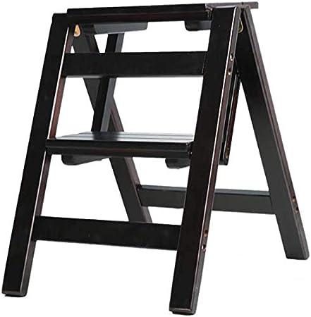 Escalera plegable de 2 peldaños Escalera de peldaño de doble uso Escaleras de tijera plegables Escaleras