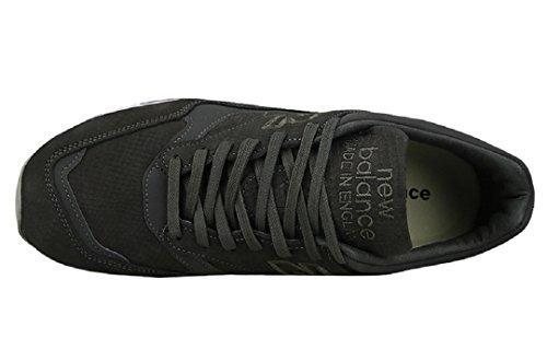 New Balance - Zapatillas para hombre negro negro