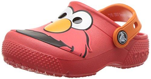 Crocs Kids' Crocsfunlab Elmo Clog,Flame,3 M US Little Kid