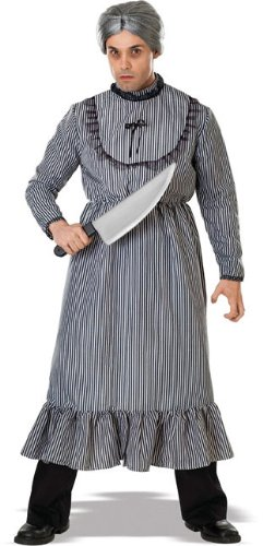 Psycho Mother's Dress Adult Costume - Standard ()