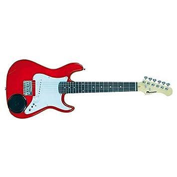 Rochester - R1-rd roja guitarra electrica: Amazon.es: Instrumentos musicales