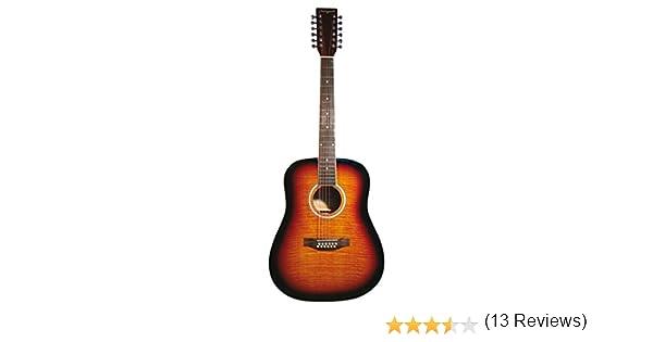 Martin Smith W-420-SB - Guitarra acústica con cuerdas metálicas ...