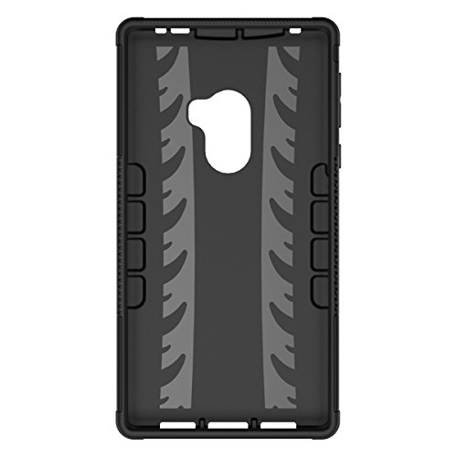 Xiaomi Mi MIX Funda, adorehouse Hybrid TPU y PC Bumper Back Cover [diseño 2 en 1] Anti-Gota Anti-Choques Rígido Carcasas para Xiaomi Mi MIX (Bleu) Orange