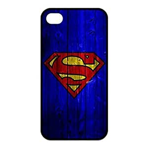 SUUER Superman Custom Hard Case for iPhone 4 4s Durable Case Cover