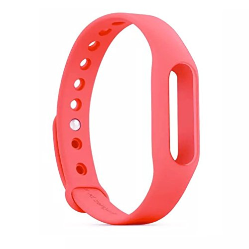 Wrist Strap - Yarrashop Waterproof Replacement Band Wristbands for XiaoMi Wireless Wristband Bracelet (Pink)