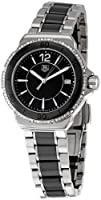 Tag Heuer Women's 'Formula 1' Black Diamond Dial Ceramic Watch WAH1212.BA0859