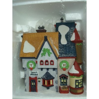 Department 56 Heritage Village Collection North Pole Series Tassy's Mittens & Hassel's Woolies