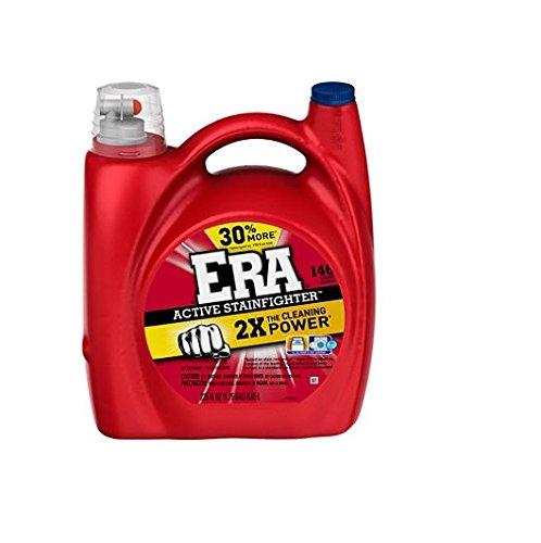 Era 2X Ultra he Liquid Laundry Detergent, 225 Ounce - 146 lo