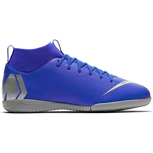 (Nike Junior SuperflyX 6 Academy Indoor Soccer Shoes (4.5 US M Big Kid))