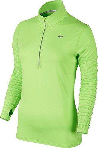 9d094f86 Galleon - Nike Mens Dri-Fit Element Half Zip - Small - Spring Leaf