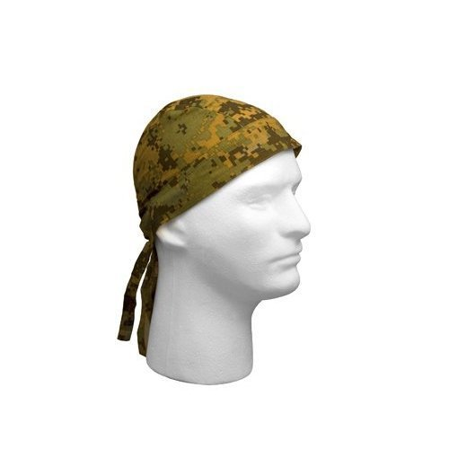 Rothco Headwrap, Woodland Digital Camo