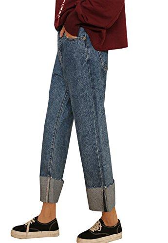 COCO Femme bleu bleu clothing Jeans Relaxed 44xB80w