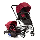 Travel System Epic Lite Ts Cherry Carrinho de Bebê + Bebê Conforto - Infanti