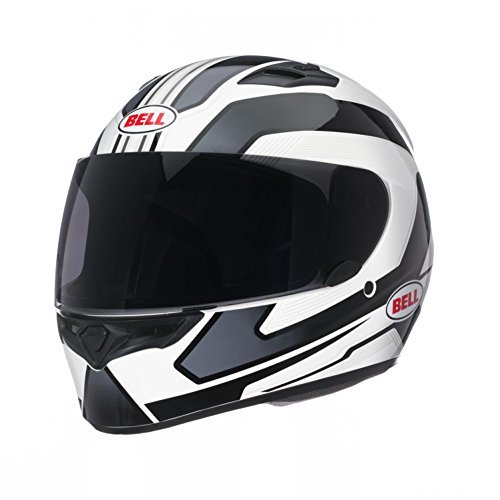 Grey Large Street Bikes - Bell Unisex-Adult's Full-Face Style Street Helmet (Black/Grey, XX-Large)