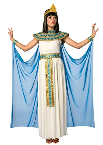 [Morris Costumes Womens Cleopatra Princess Egyptian Halloween Party Fancy Dress, L (12-14)] (Ancient Egyptian Halloween Costumes)