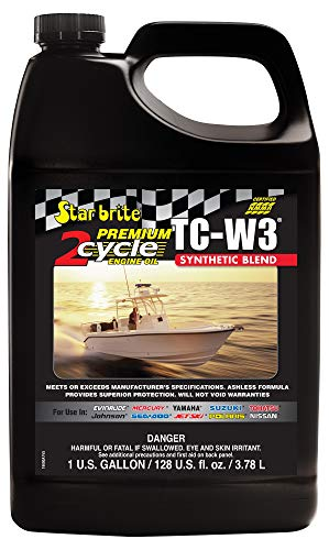 Star brite Premium 2-Cycle Engine Oil TC-W3 - 1 gal ()