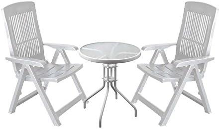 3 piezas. Mobiliario de jardín Bistro Muebles - Muebles de ...
