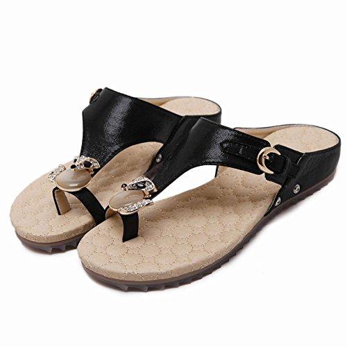 Flops Latasa Flip Slippers Womens Flops Flip Womens Slippers Black Latasa Latasa Black zwq1qEU