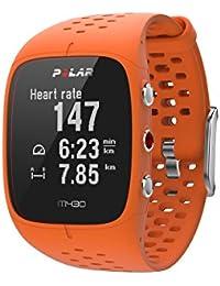 Relógio com GPS e Pulso para Corrida M430, Polar, Relógio para Esportes, Laranja, Único