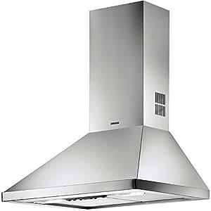 Zanussi ZHC 6141 X - Campana (Recirculación, 400 m³/h, 49 Db, Montado en pared, Acero inoxidable, Botones)