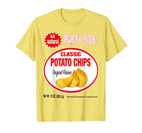 Original Flavor: Classic Bag of Potato Chips Costume T-Shirt