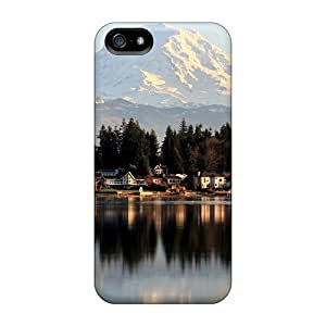 New Style Case Cover QKTRysV3712xgiHG Landscape Compatible With Iphone 5/5s Protection Case