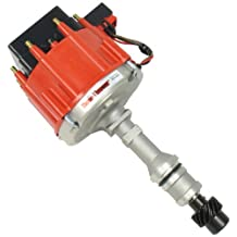 Pertronix D1171 Flame-Thrower Race Distributor HEI with Red Cap for Oldsmobile V8