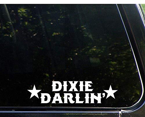Car-Decal Dixie Darlin' - 8 3/4