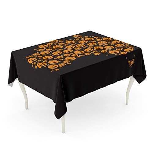 Tinmun Waterproof Tablecloth 52 x 70 Inches Map